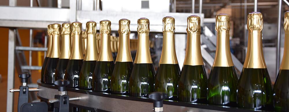 Embouteillage de nos champagnes