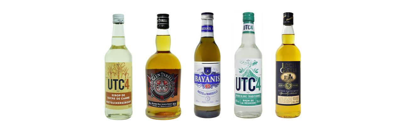 Nos bouteilles de spiritueux